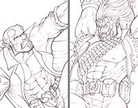 Hellboy vs Lobo