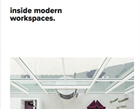 2017 NEW BOOK: Inside modern workspace with work of M+R