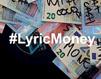 #LyricMoney | Art Intervention