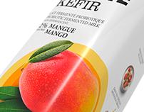 Liberté - Kéfir / Packaging