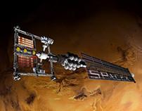 SPACE X Mars Shuttle
