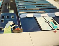 School project, de zelfvoorzienende stad.