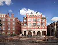 RESIDENCE COMPLEX IN THE HISTORICAL PART OF LONDON