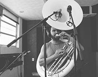 Tenampa Brass Band Recording Session