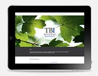 TBI website design