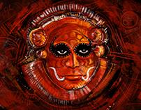 Theyyam- DIGITAL ART