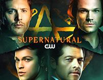Supernatural final season promo poster unofficial