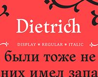 Dietrich typeface