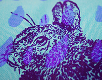 Conejines Serigrafía textil