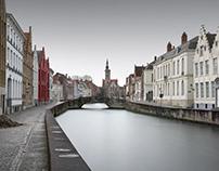 A criss-cross portrait : Bruges, Venice, Istanbul