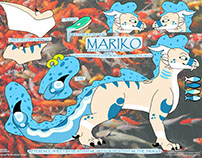 Mariko Ref Sheet Photoshop Project