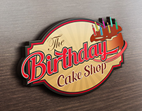 The Birthday Cake Shop - Logo