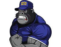Gorilla Character Design
