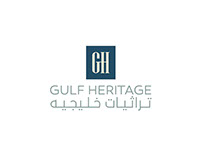 Gulf Heritage logo and identity