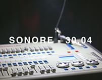 Sonore - cobertura