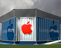 Pop Up Store - Apple Lounge