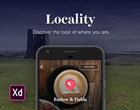 Adobe XD Contest – Prototype Your Creative City App!