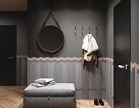 3D concrete tile #9, brand ASHOME