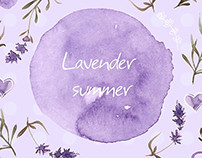 Lavender patterns