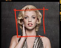 The Secret Life of Marilyn Monroe KeyArt and shoot.
