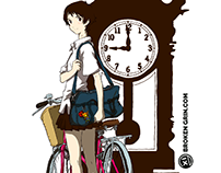 The Girl Who Leapt Through Time Pop Art