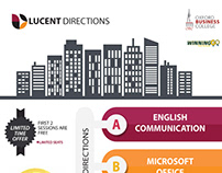 Promo Design A4 LUCENT DIRECTIONS