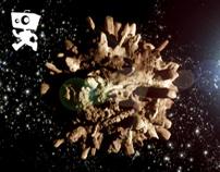ROBOT Animation & VFX // Nissan Xtrail Stone World