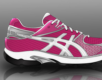 Asics Fencing Shoe Concept