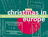 cd insert__Christmas in Europe. King's Brass