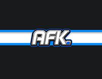 AFK Logo design + Quick wallpaper (Sports Inspired)