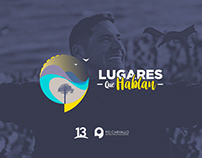 LUGARES QUE HABLAN ID PACK & ON AIR GRAPHICS
