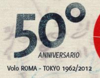 Alitalia - 50° Anniversario del primo volo Roma-Tokyo
