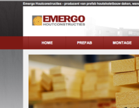 Emergo Houtconstructies - Corporate Website