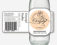 Label Design Ceryslyl Vodka