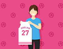 Hey, I'm on Dribbble!