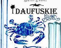 Daufuskie island rum label