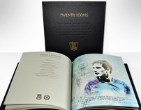 F.A.Premier League 20 Icons book