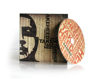 Saheed - Take Heed CD Wallet Packaging
