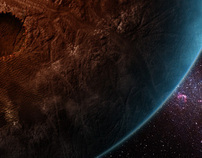 Digital Matte Painting 'Space'