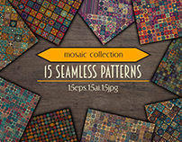Mosaic tile pattern collection