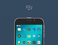 BlackBerry Classic Flattened