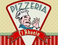 La pizzeria del abuelo - identity