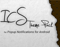ICS Theme Pack for Popup Notifications - Android