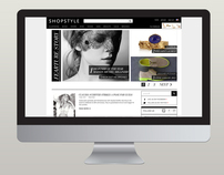 Fashion Blog Redesign