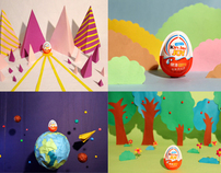 Magic Egg - Kinder Joy Stop Motion Video