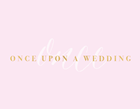 Branding and Creative Direction for Once Upon a Wedding
