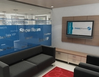 Office at Bogota | Coaspharma Show Room