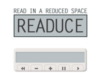 Readuce - Read in a reduced space
