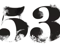 53 DEGREES NORTH DIGITAL ILLUSTRATIONS B&W