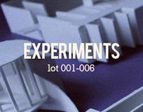 Experiments (lot 001-006)